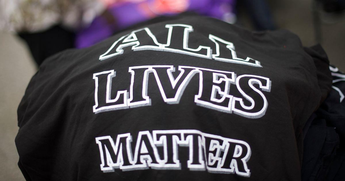 All Lives MAtter.'