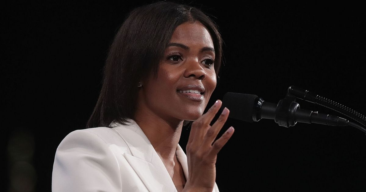 Candace Owens speaks during the NRA-ILA Leadership Forum on April 26, 2019 in Indianapolis.