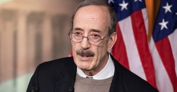 Democratic Rep. Eliot Engel of New York speaks in Washington on Jan. 28, 2020.