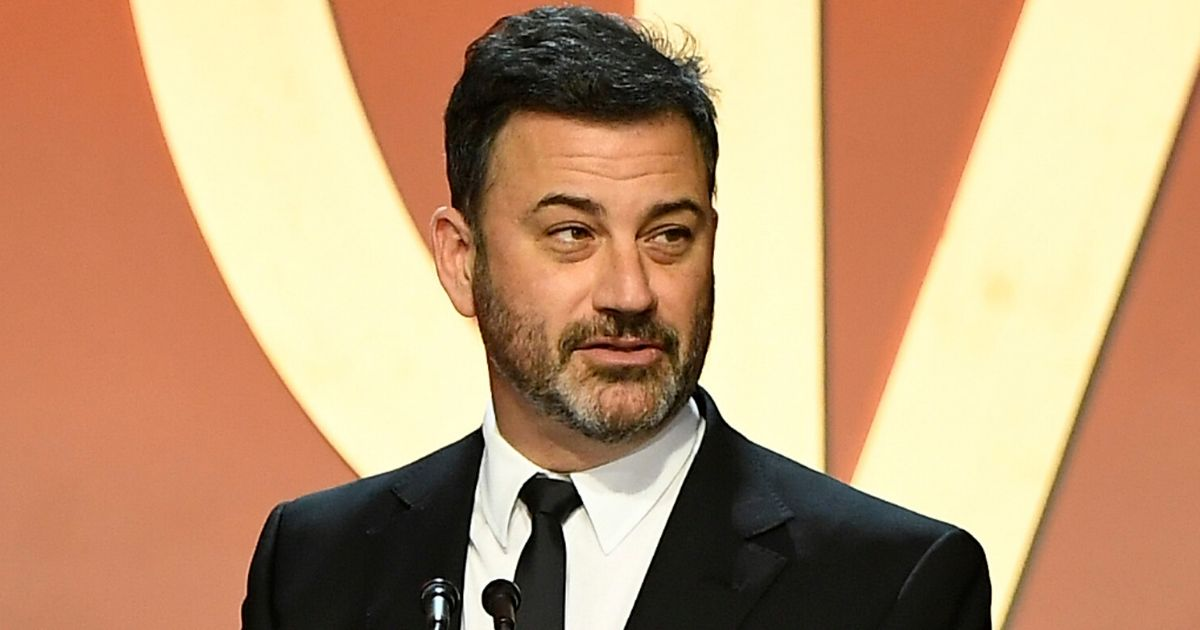 Jimmy Kimmel speaks onstage during the Producers Guild Awards at the Hollywood Palladium in Los Angeles on Jan. 18, 2020.