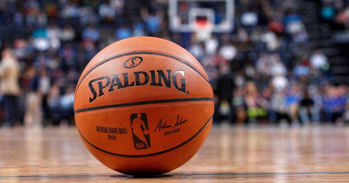 NBA court.'