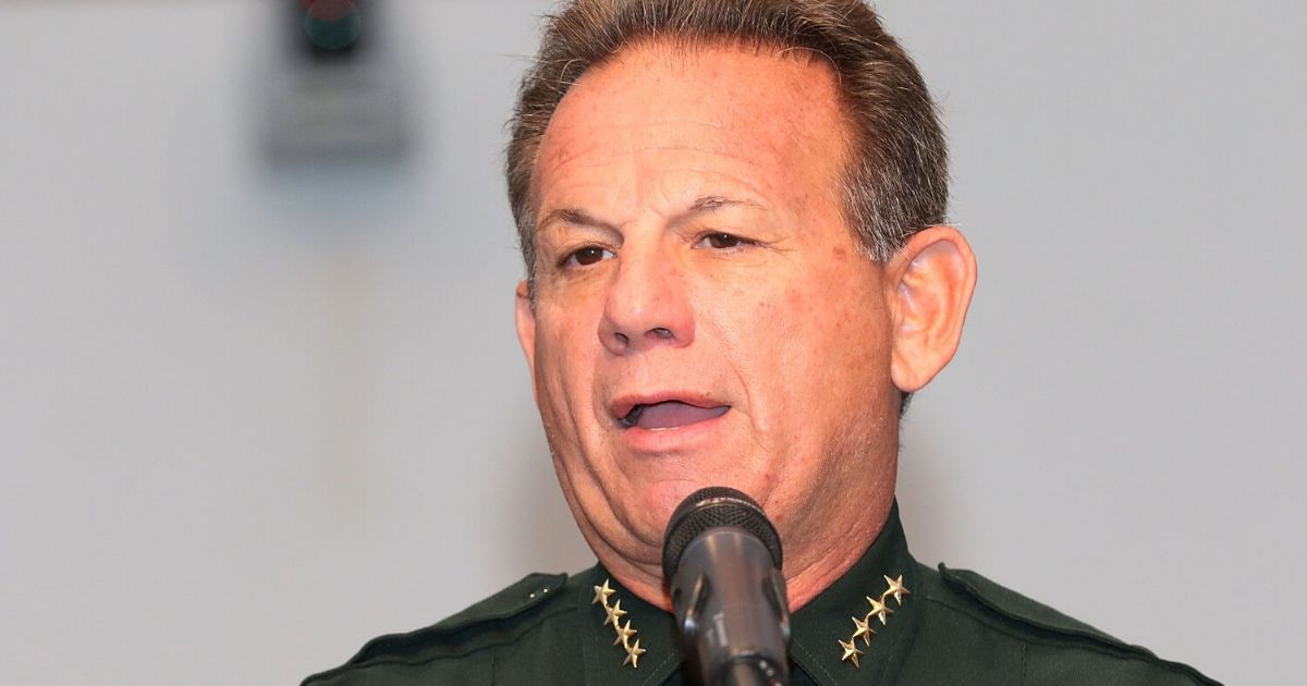 Scott Israel, then sheriff of Broward County, Florida, attends a Habitat for Humanity event March 24, 2017, in Pompano Beach.