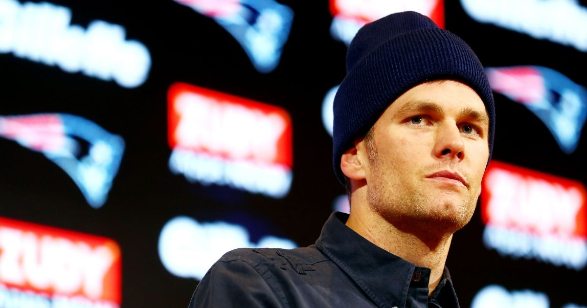 Tom Brady speaks with the media during a news conference at Gillette Stadium on Jan. 4, 2020, in Foxborough, Massachusetts.
