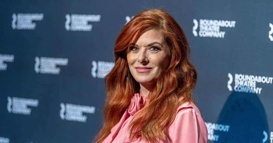 """Actress Debra Messing attends the """"Birthday Candles"""" Photocall at American Airlines Theatre on March 12, 2020, in New York City."""