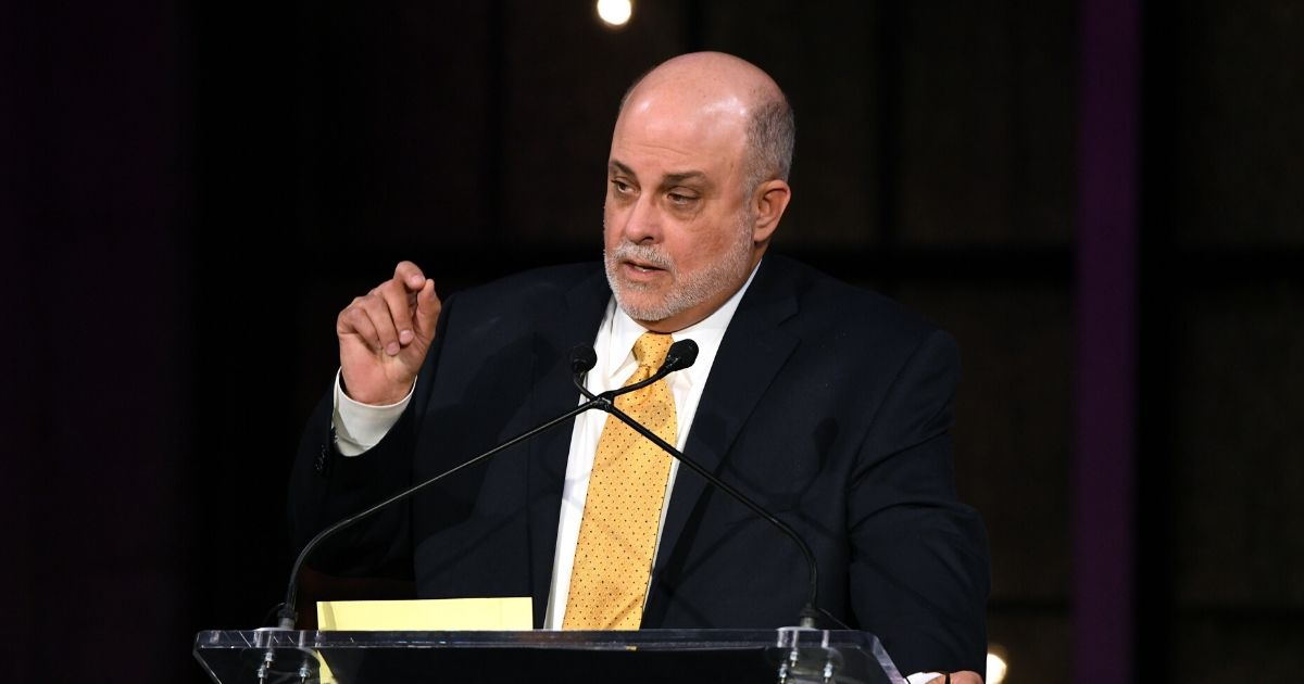Inductee Mark Levin speaks on stage during the Radio Hall Of Fame 2018 Induction Ceremony at Guastavino's on Nov. 15, 2018, in New York City.