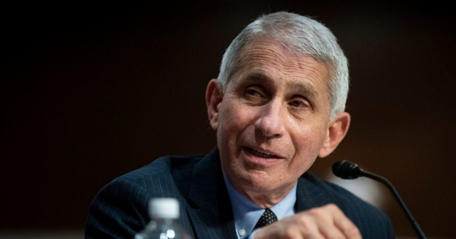 Dr. Anthony Fauci, director of the National Institute of Allergy and Infectious Diseases, speaks during a Senate Health, Education, Labor and Pensions Committee hearing on June 30, 2020, in Washington, D.C.