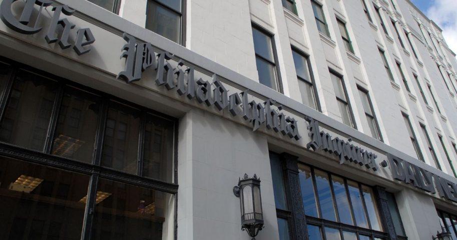 The Philadelphia Inquirer Building is seen on Feb. 23, 2009, in Philadelphia.