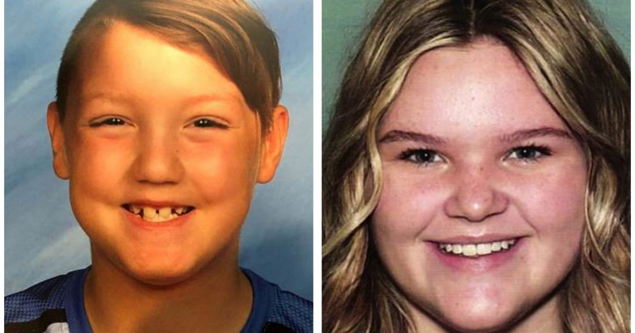 "This combination of undated file photos released by the National Center for Missing & Exploited Children shows missing children Joshua ""JJ"" Vallow, left, and Tylee Ryan. Seven-year-old Joshua and Ryan, 17, haven't been seen since September, and police say both Chad and Lori Daybell lied to investigators about the children's whereabouts."