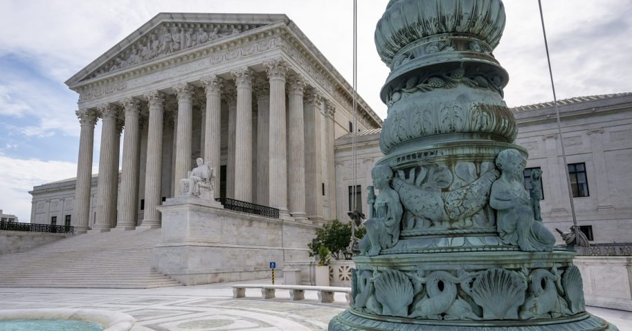 The Supreme Court is seen in Washington on June 15, 2020.
