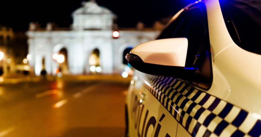 A Spanish police vehicle is seen in this stock image.