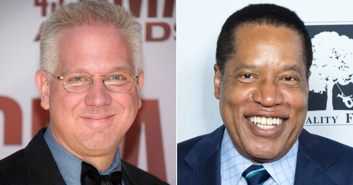 Glenn Beck, left, and Larry Elder, right, are among 24 nominees this year for the Radio Hall of Fame.