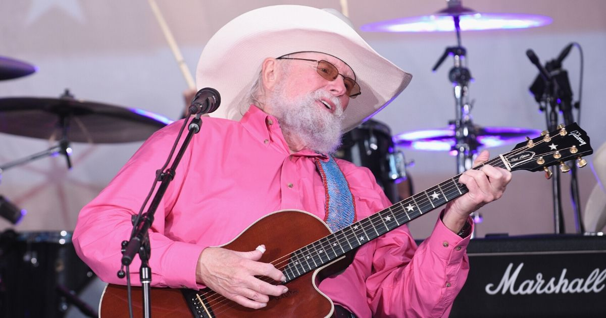 """Charlie Daniels performs during the """"Fox & Friends"""" All-American Summer Concert Series on June 21, 2019, in New York City."""
