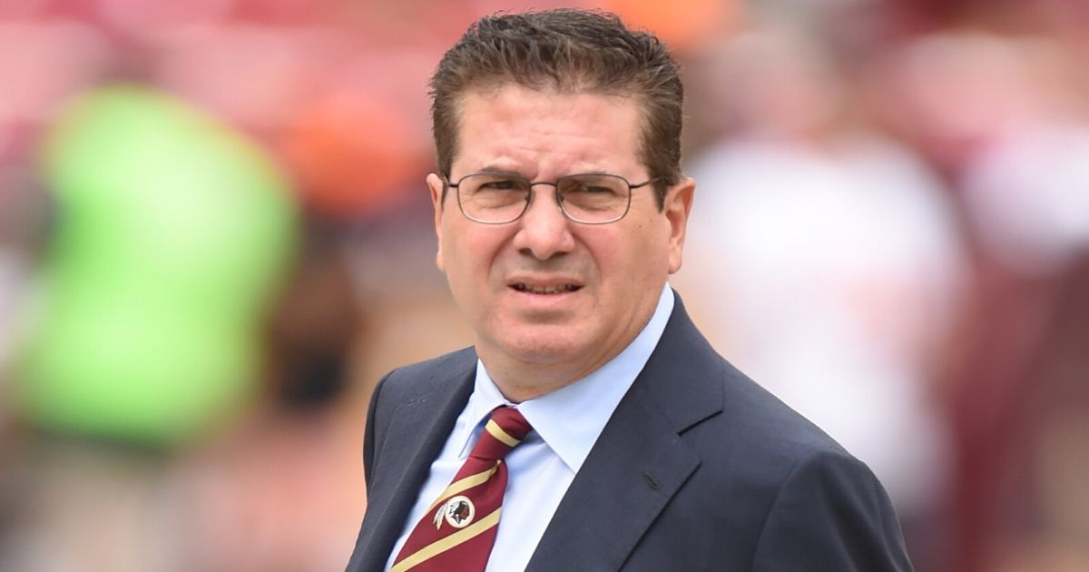 Washington Redskins owner Daniel Snyder is seen at FedEx Field in Landover, Maryland, before his team's game against the Cleveland Browns on Oct. 2, 2016.