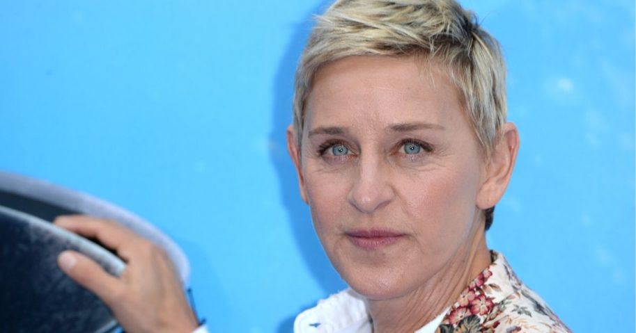 Ellen DeGeneres, whose show has been dropping in the ratings as rumors about the host are spread, is pictured above.