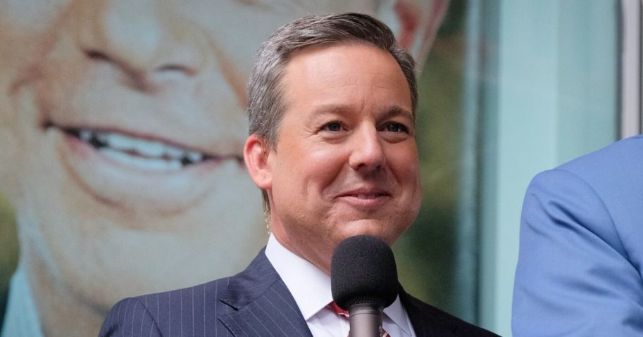 Ed Henry is pictured at FOX Studios on June 23, 2017, in New York City.