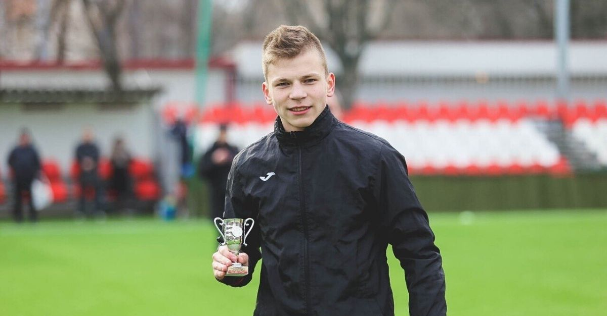 Ivan Zaborovsky, a 16-year-old Russian goalkeeper for Znamya Truda, a soccer club based in the city of Orekhovo-Zuevo, was recently struck by lightning, putting him in a coma.