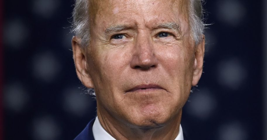 Democratic presidential candidate and former Vice President Joe Biden speaks July 14, 2020, at the Chase Center in Wilmington, Delaware.