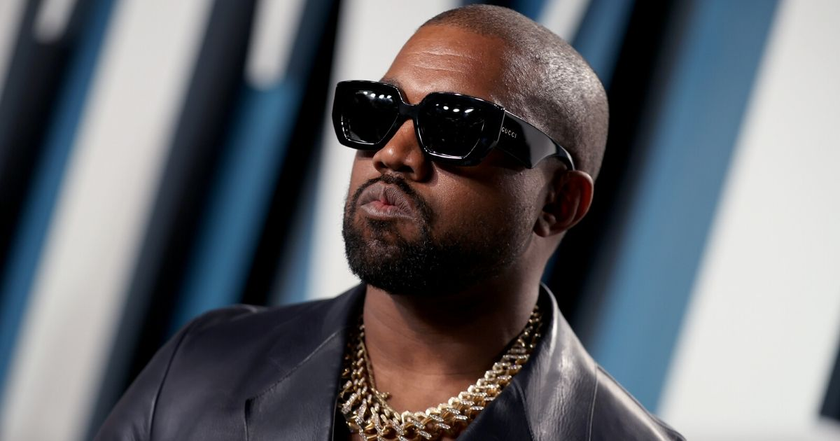 Kanye West attends the 2020 Vanity Fair Oscar Party hosted by Radhika Jones at Wallis Annenberg Center for the Performing Arts on Feb. 9, 2020, in Beverly Hills, California.