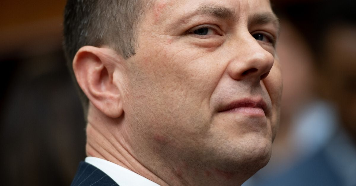 FBI Deputy Assistant Director Peter Strzok testifies on FBI and Department of Justice actions during the 2016 presidential election during a House Joint committee hearing on Capitol Hill in Washington, D.C., on July 12, 2018.