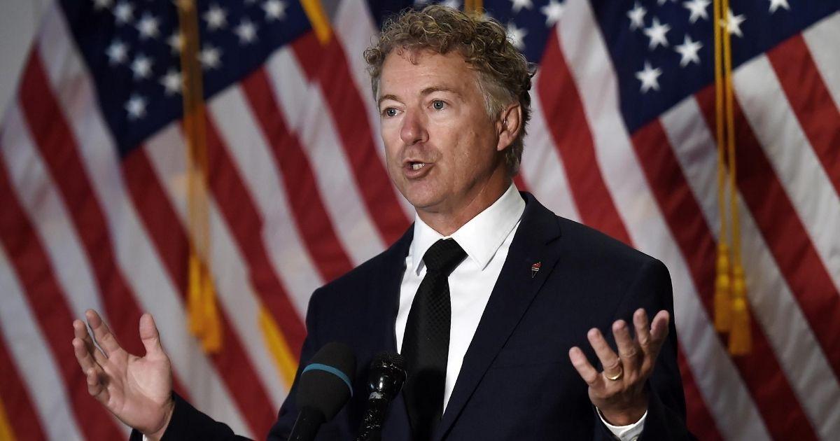 Rand Paul Blasts Irresponsible Spending: GOP Lunch Was Like 'Bernie Bros' Meeting