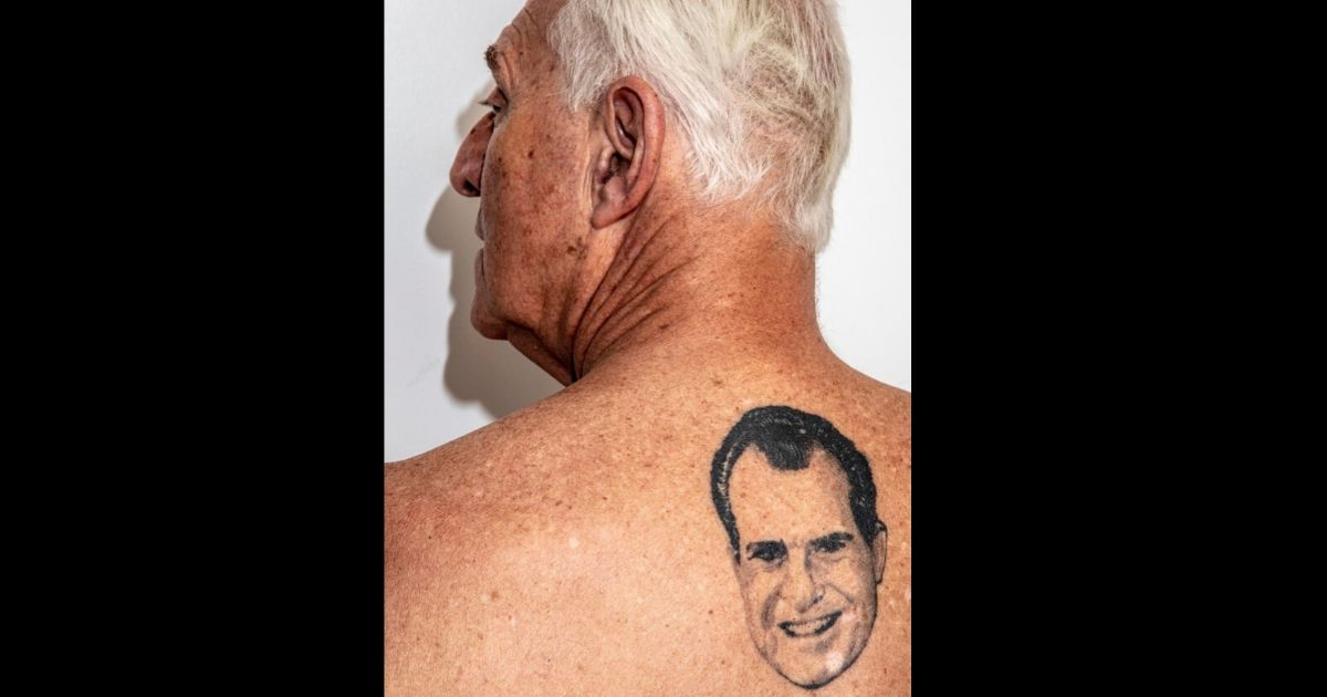 Roger Stone tattoo.