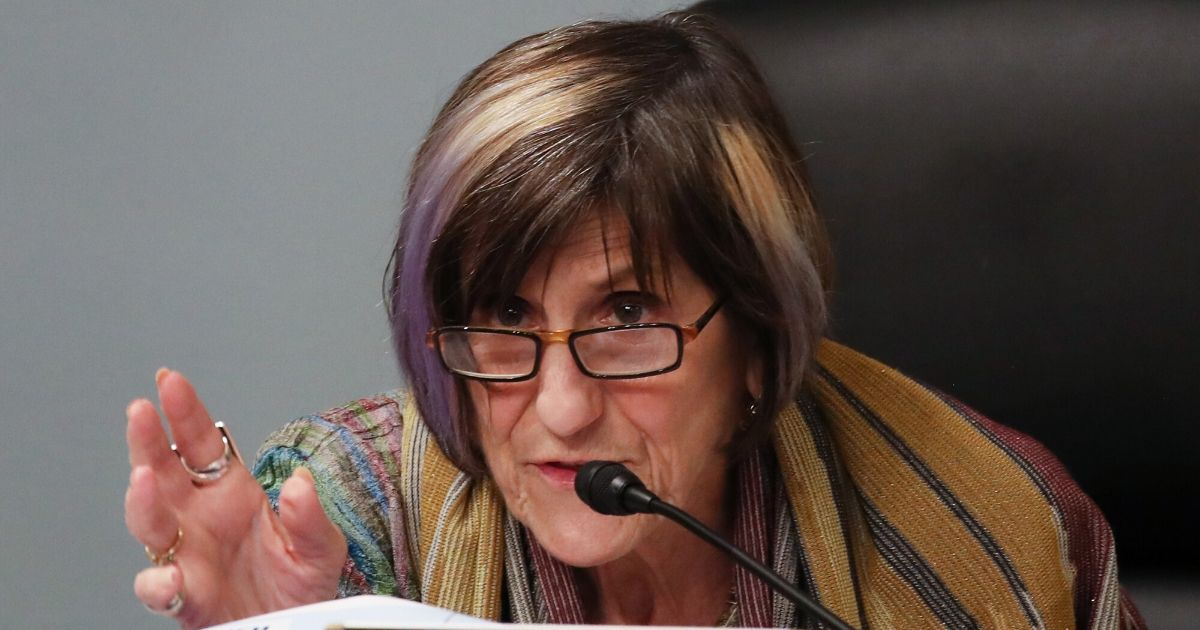 Democratic Connecticut Rep. Rosa DeLauro, chairwoman of the House Subcommittee on Labor, Health and Human Services, Education and Related Agencies, speaks on June 4, 2020, in Washington, D.C.