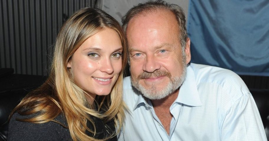 Spencer Grammer and her dad, Kelsey Grammer, in 2011. Spencer Grammer was recently injured by a man at a restaurant.