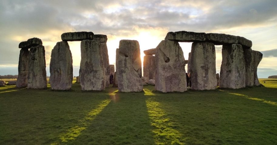 According to new research, Stonehenge's huge stones in Southern England came from West Woods, Wiltshire, a little over 15 miles away from the monument.