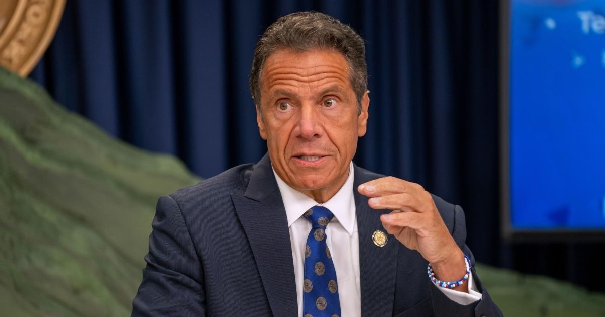 New York Gpv. Andrew Cuomo speaks during a COVID-19 briefing on July 6, 2020, in New York City.