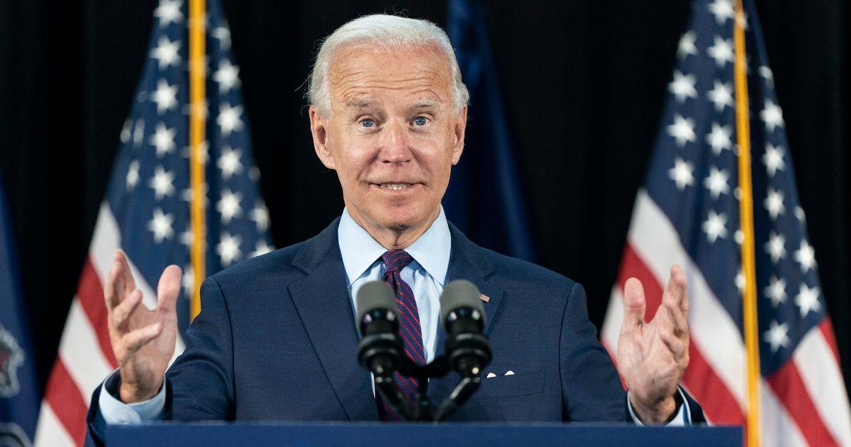 Former Vice President Joe Biden speaks June 25 in Lancaster, Pennsylvania.