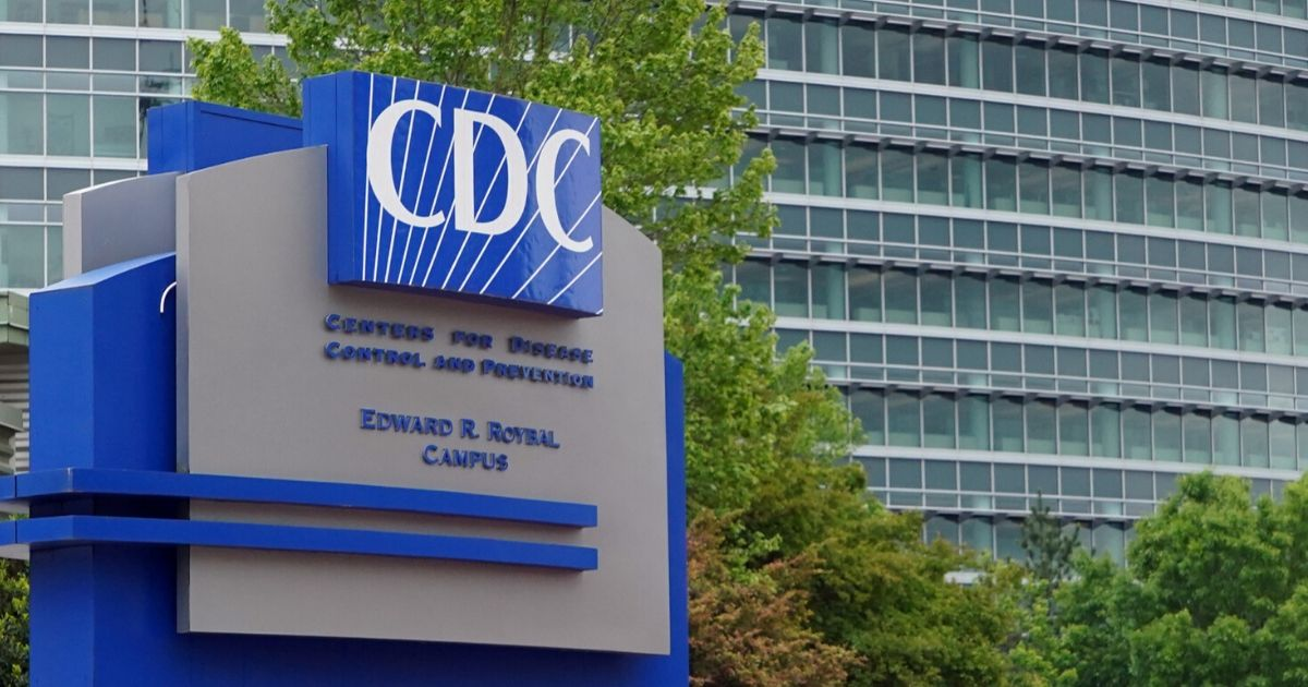 A general view of the Centers for Disease Control and Prevention Edward R. Roybal campus in Atlanta on April 23, 2020.