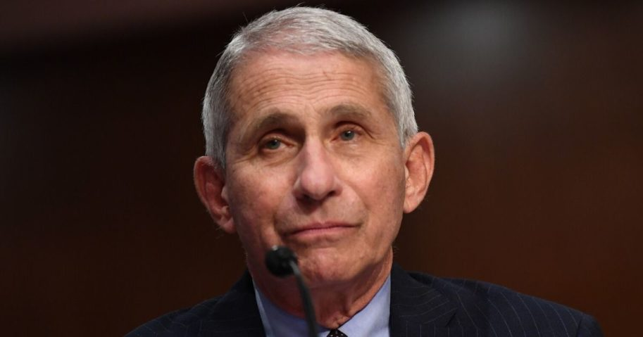 Dr. Anthony Fauci, director of the National Institute of Allergy and Infectious Diseases, testifies at a hearing of the Senate Health, Education, Labor and Pensions Committee on June 30, 2020, in Washington, D.C.