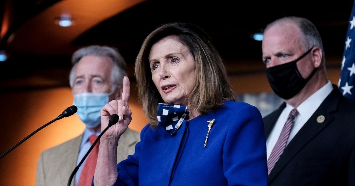 Pelosi Unhinged: Starts Yelling 'No, No, No' at Reporter Pressing Her on COVID Relief Package