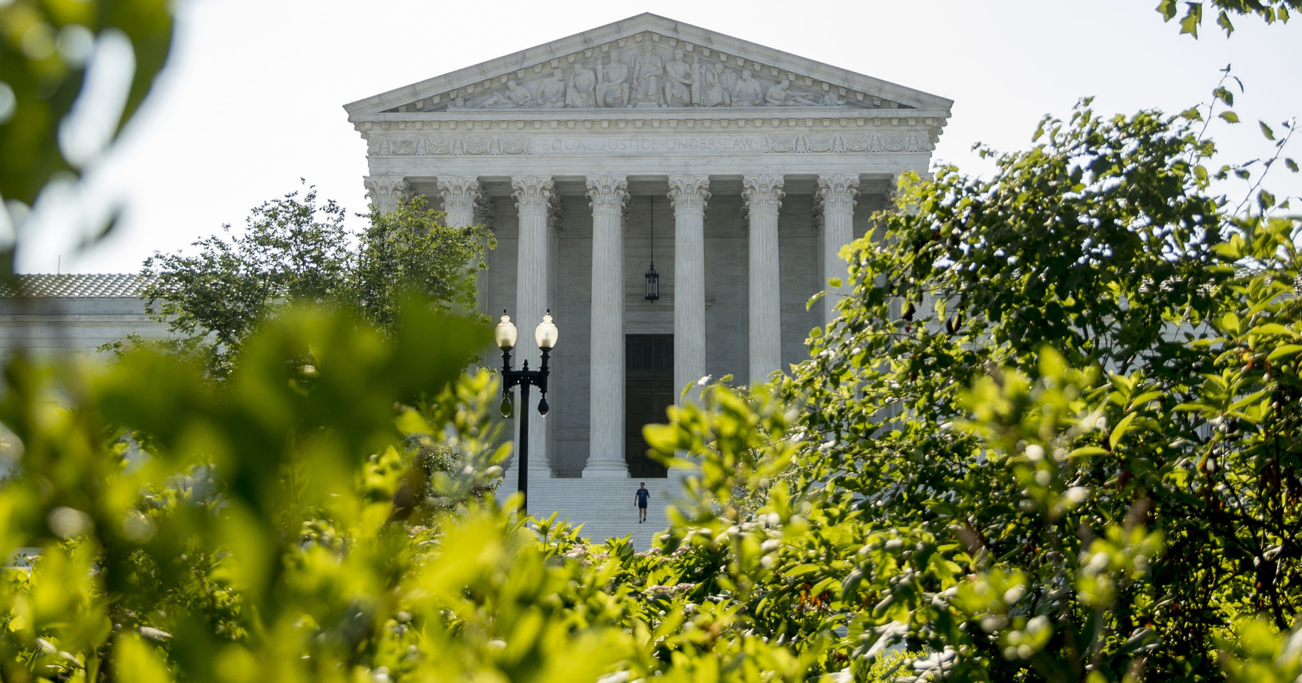 The Supreme Court is seen on July 8, 2020, in Washington, D.C.