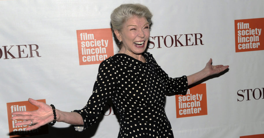 "In this Feb. 27, 2013, file photo, actress Phyllis Somerville attends the premiere of ""Stoker"" at Walter Reade Theatre in New York. Somerville, an actress with a variety of credits in films, television shows and Broadway productions over her lengthy career, has died. She was 76."
