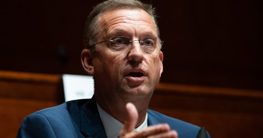 Congressman Doug Collins speaks during a House Judiciary Committee hearing on Capitol Hill on June 10, 2020, in Washington, D.C.