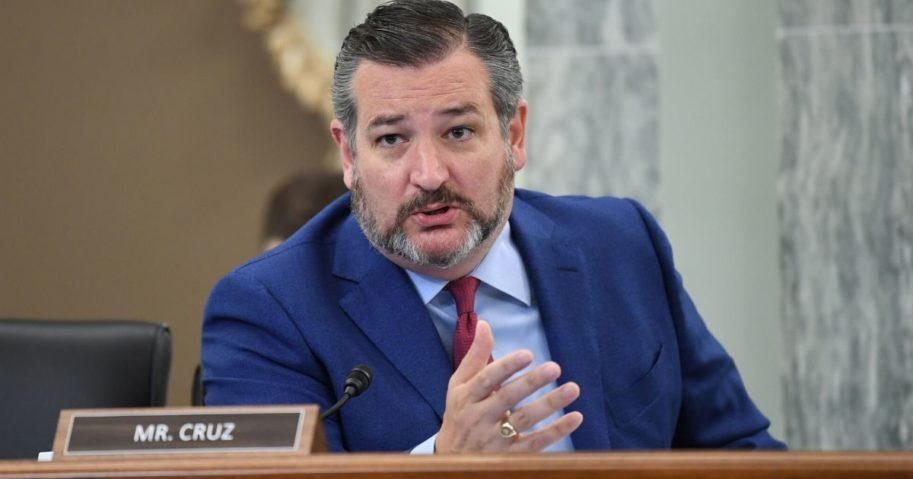 Senator Ted Cruz speaks during a hearing on June 24, 2020, in Washington, D.C.
