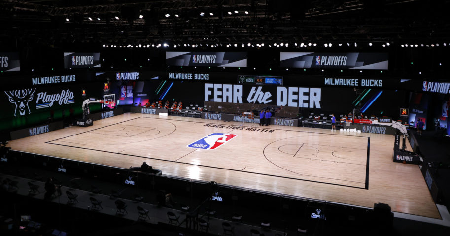 The Milwaukee Bucks refused to play their game against the Orlando Magic on Aug. 26, 2020, after the police shooting of Jacob Blake in Kenosha, Wisconsin.