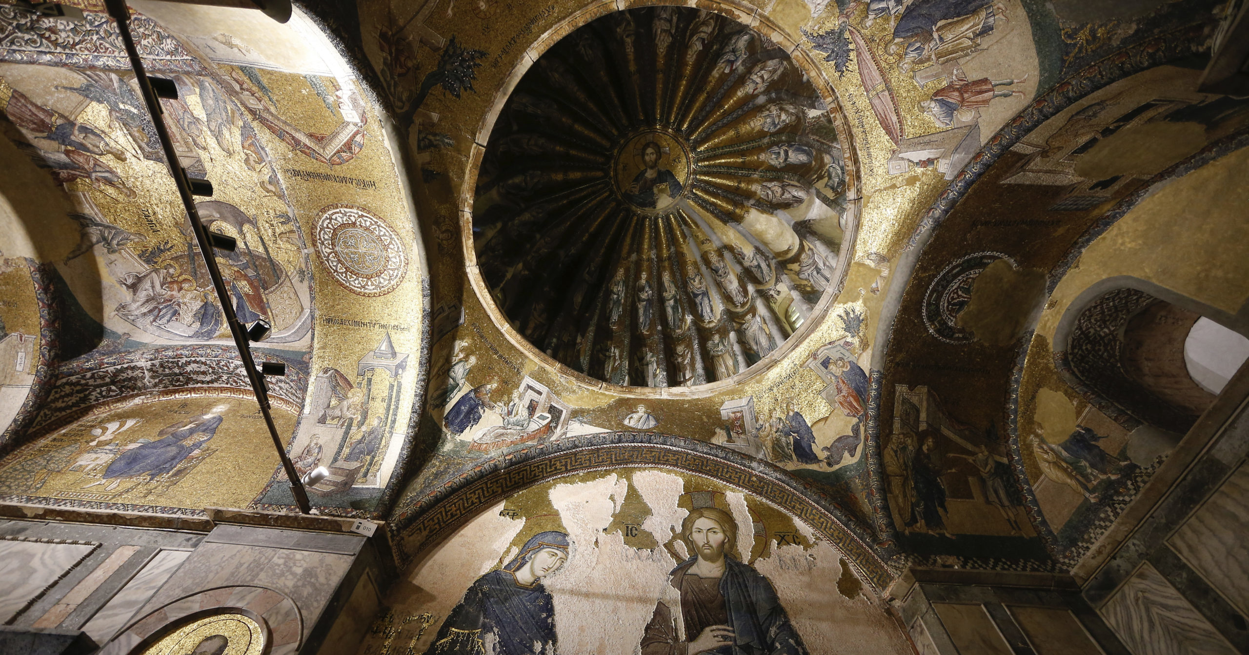 St. Saviour in Chora is seen in Istanbul on Aug. 21, 2020. Turkey formally converted the former Byzantine church into a mosque a month after it similarly turned Istanbul's landmark Hagia Sophia into a Muslim house of prayer, drawing international rebuke.