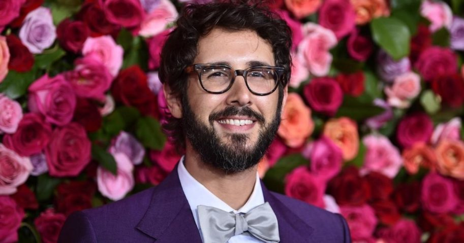 Josh Groban arrives at the 72nd annual Tony Awards at Radio City Music Hall in New York City on June 10, 2018.