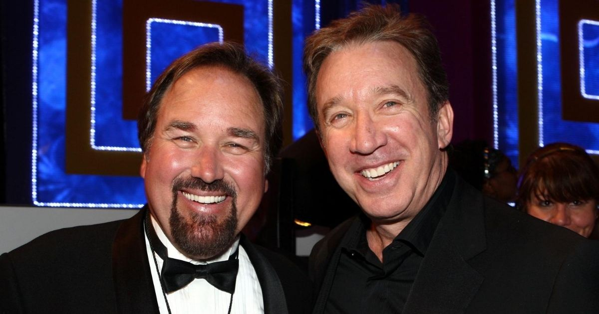 """Richard Karn, left, and Tim Allen, who will be hosting and starring, respectively, in a new building competition show called """"Assembly Required,"""" are seen in the image above."""