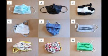 Duke University researchers tested a variety of masks on their effectiveness.