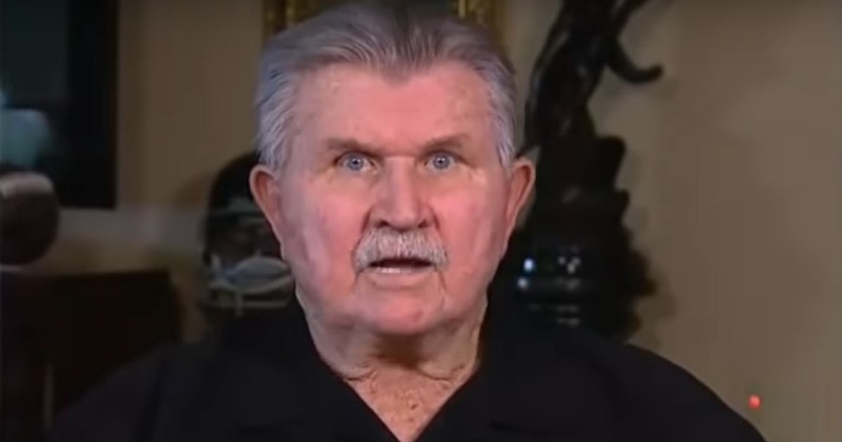 NFL legend Mike Ditka appears on Fox News.