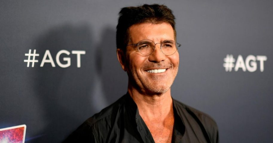 Simon Cowell, who suffered a broken back after testing out an electric bike last week.