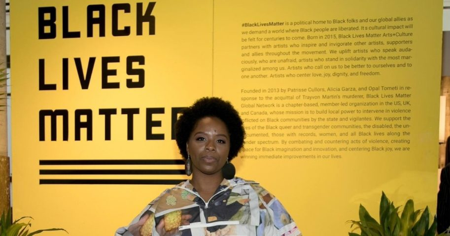 Black Lives Matter Global Network Co-founder Patrisse Cullors is pictured on Dec. 6, 2018, in Miami.