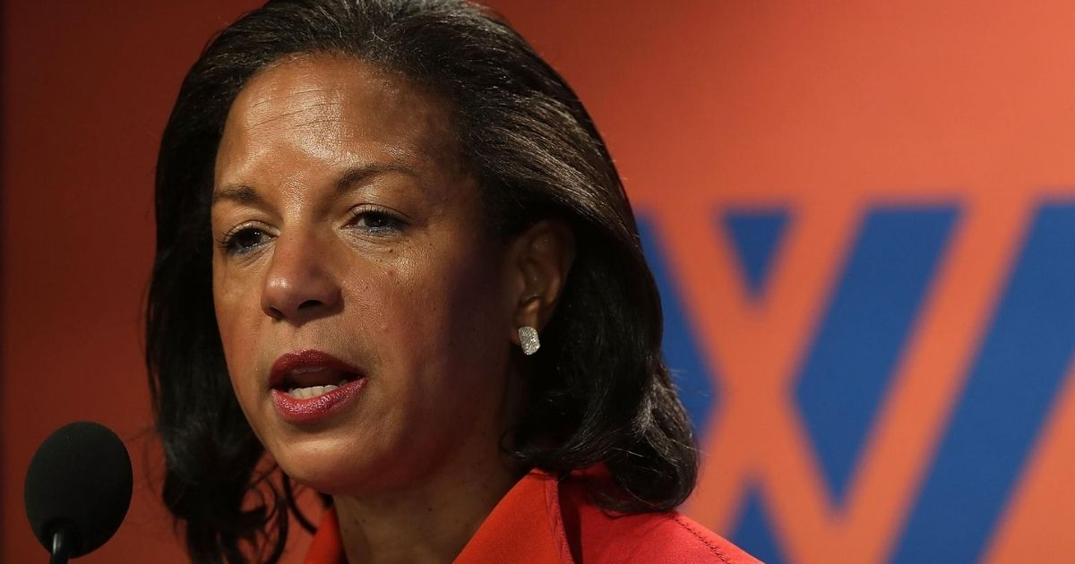Then-National Security Advisor Susan Rice participates in a discussion Oct. 14, 2016, at the Woodrow Wilson Center in Washington, D.C.