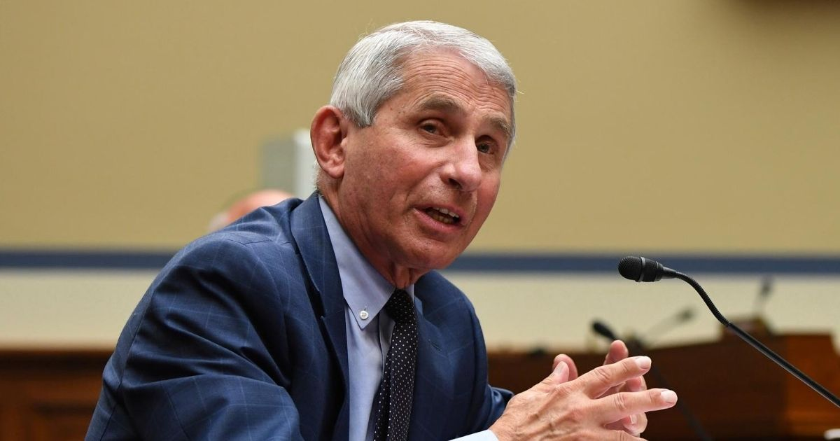 Dr. Anthony Fauci, the director of the National Institute of Allergy and Infectious Diseases, speaks during a House Select Subcommittee on the Coronavirus Crisis hearing on July 31, 2020, on Capitol Hill in Washington, D.C.