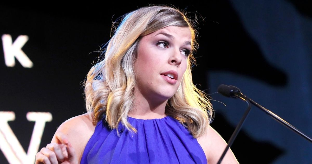 Conservative podcast host Allie Beth Stuckey speaks at the Save the Storks 2nd Annual Stork Charity Ball at the Trump International Hotel on Jan. 17, 2019, in Washington, D.C.