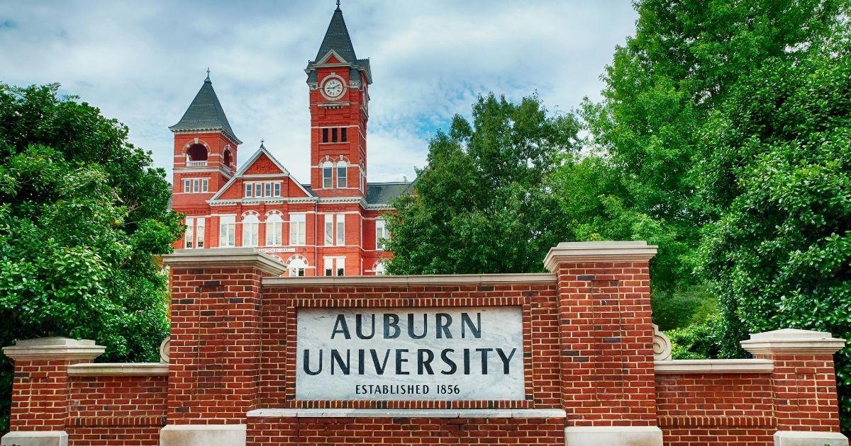 Auburn University in Auburn, Alabama, is pictured on Sept. 4, 2014.