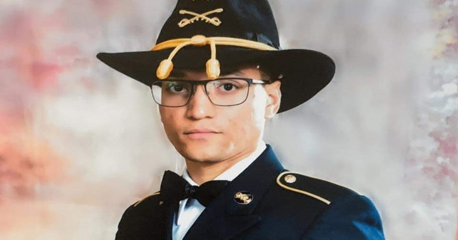 This file photo provided by the U.S. Army shows Sgt. Elder Fernandes. Police said on Aug. 25, 2020, that a body found near Fort Hood, Texas, is likely that of Fernandes. Fernandes is the third soldier from Fort Hood to go missing in the past year.